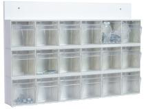 Boksenhet glassklar høyde 410 mm