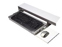 Gigant uttrekkbar tastaturhylle