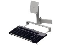 Gigant flatscreenfeste og tastaturholder for montering på leddbar arm