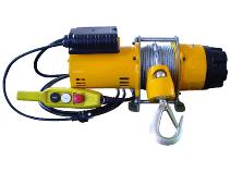 Elektrisk vinsj 1–fas 230V Svero