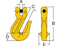 Innkortingskrok/gaffel Svero
