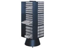 Gulvkarusell for oppbevaringsskap dybde 255mm Raaco