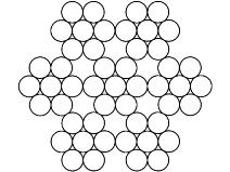 Gigant Ståltau 49–trådet, rustfri