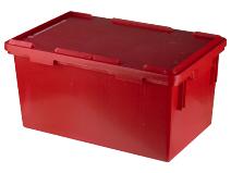 Avfallsbeholder med lokk 42 liter