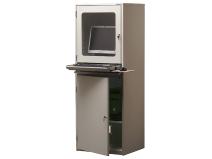 Gigant PC–/dataterminalskap grå