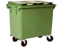 Avfallsbeholder 660 L