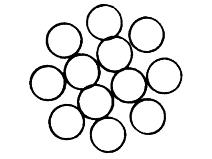 Ståltau 12–trådet, galvanisert Gunnebo Lifting