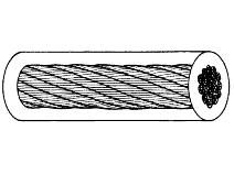 Ståltau 42–trådet, galvanisert/PVC Gunnebo Lifting