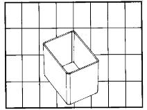 Innsatsboks til sortimentsvesker og verktøykasser Raaco