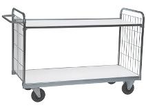 Hyllevogn maks. belastning 300 kg med 2 eller 4 hyller
