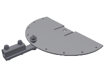 Tillbehör Svängarm mini (höjd 480 mm)