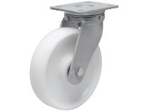 Styrehjul type 15P PA6 stålbøyle nylon Swede–Wheel