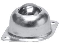 Kulerulle ovenpåliggende skrudd montering Swede–Wheel